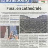 """""""Final en cathédrale""""  D.N.A.  20 août 2013"""