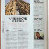 """""""Bielutine, le mystère d'une collection"""" et """"Le défi des bâtisseurs"""" Arte Magazine Mai 2012"""