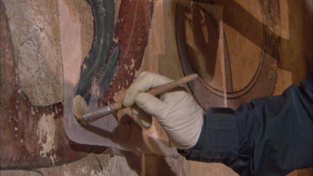 Saint-Pierre-le-Jeune, la restauration des fresques
