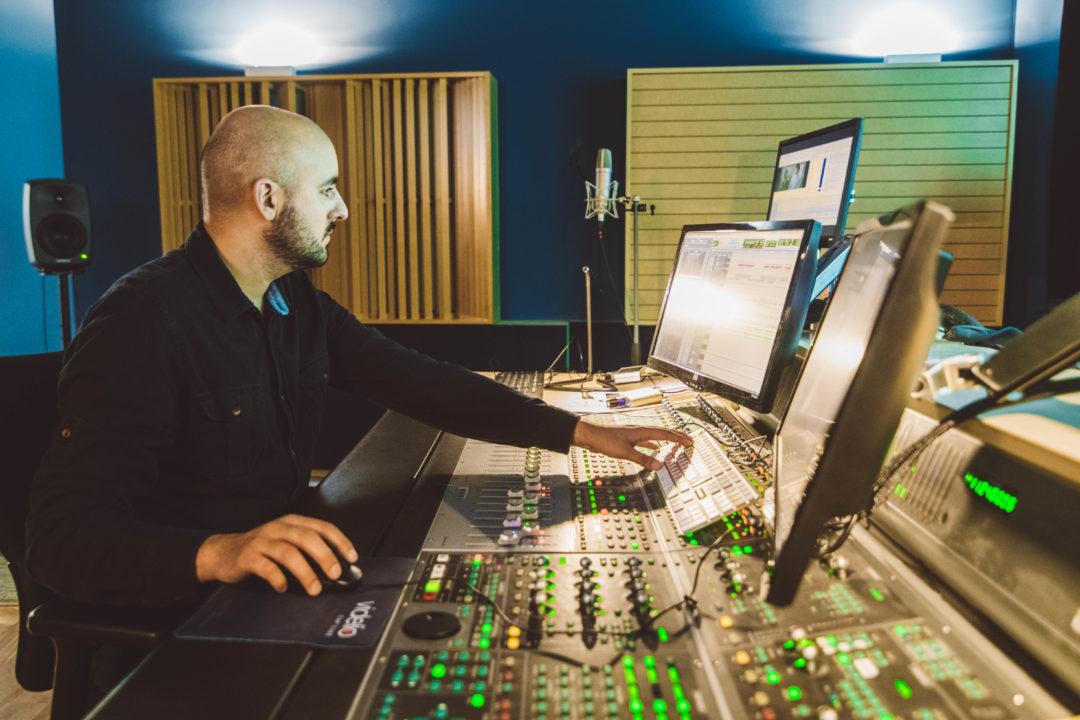 Mixage audio, auditorium Ziegelau